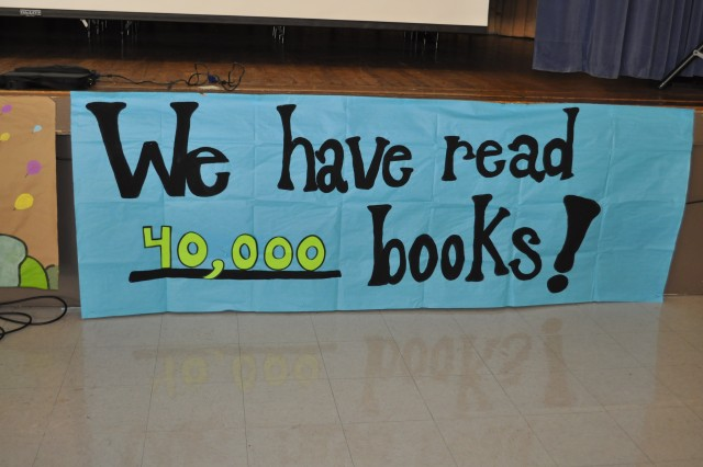 "On March 2, Dr. Seuss's birthday, nineteen Army Contracting Command employees read at Morris Elementary, which is its local adopted school, as part of Read Across America Week. This is the most volunteers that ACC has had in the four years that it has participated in this program.""This year, our goal is to read 100,000 books by the end of the year. We have popcorn parties and slushy days to make it fun, and they will have a day at the skating rink if they reach the goal,"" said Varner, the Louis J. Morris Elementary reading coach.""They love reading-- the school is already at 40,000 books in March! I know these children and they will reach their goal,"" Varner said."