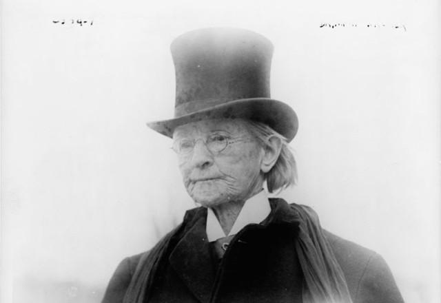 Dr. Mary Edwards Walker, around 1911.