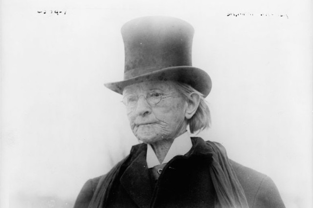 Dr. Mary Edwards Walker, around 1911.