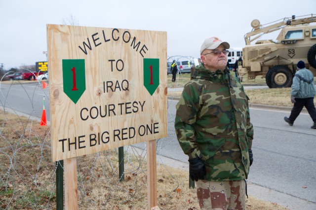 'Big Red One' honors Desert Storm Soldiers with 'berm breach
