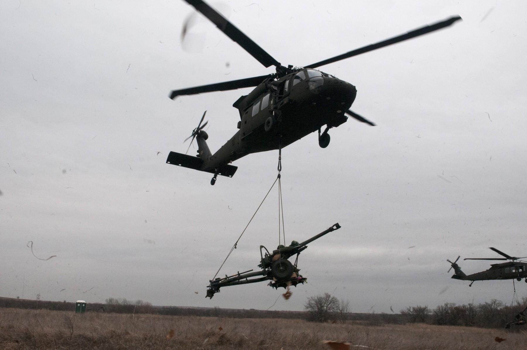 Oklahoma Army National Guard Aviators and Field Artillery
