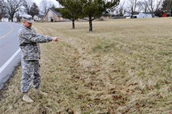 Ohio National Guard Soldier saves wandering toddler