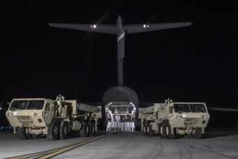 U.S. Pacific Command deploys THAAD to korean peninsula
