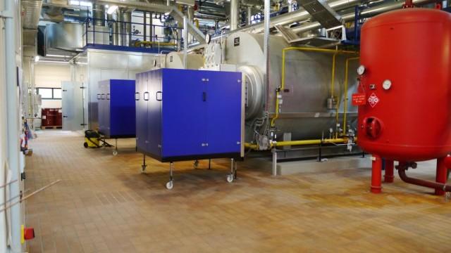 Cogeneration heat and power plant at Camp Nainhof, Hohenfels