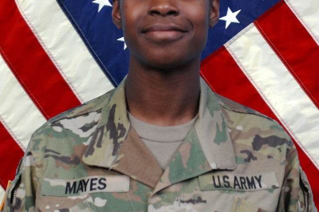 2nd Lt.  Lasheri Mayes has volunteered to become an infantry officer in the New York Army National Guard's 2nd Battalion 108th Infantry of the 27th Infantry Brigade Combat Team. The Army requires that female leaders be in place before enlisted women can join combat arms units.