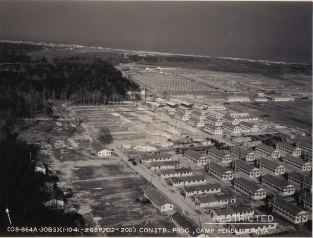 Camp Pendleton during WWII