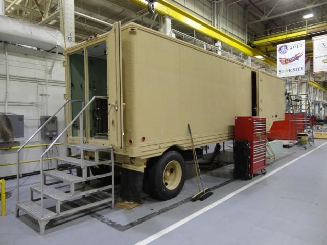 Patriot Missile Support Trailer
