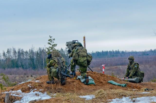 1-68 AR Soldiers conduct anti-tank live fire in Estonia