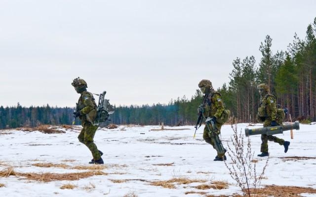 1-68 AR Soldiers conduct anti-tank life fire in Estonia