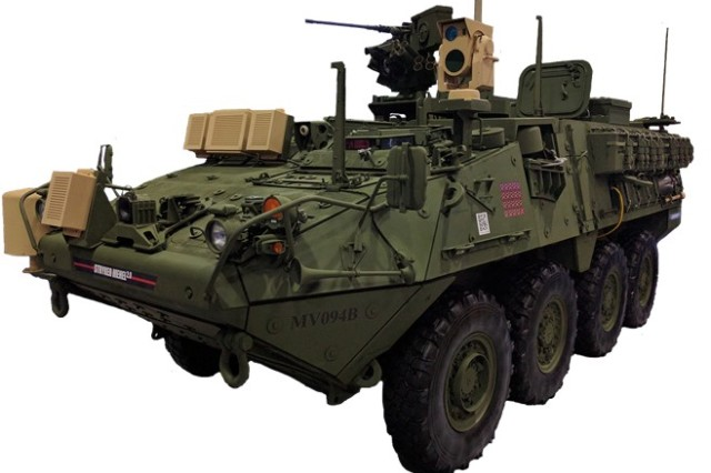 MEHEL is a laser testbed on a Stryker armored fighting vehicle chassis and serves as a platform for research and development. MEHEL 2.0 is an improved version of the original MEHEL with a laser upgraded from 2kW to 5kW.