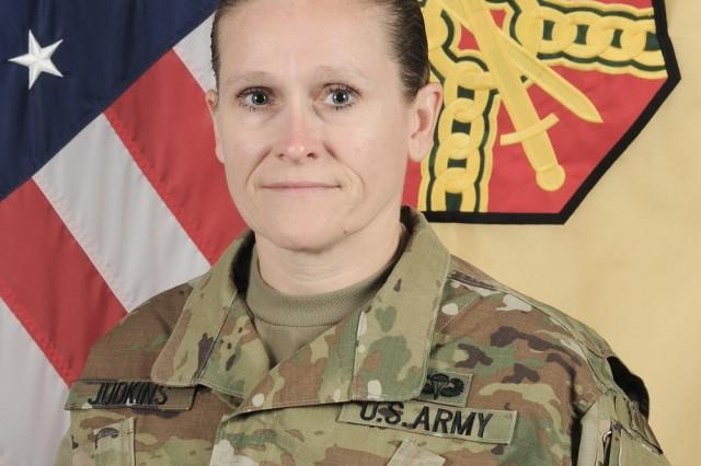 Command Sgt. Maj. Melissa Judkins
