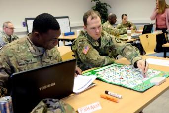 7th MSC Civil Affairs Soldiers learn Russian language basics