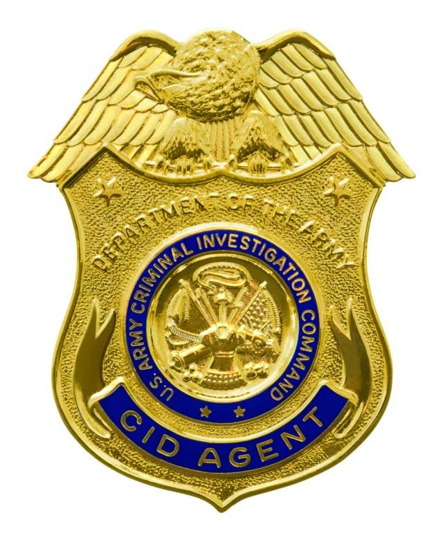 U.S. Criminal Investigation Command CID Agent Badge