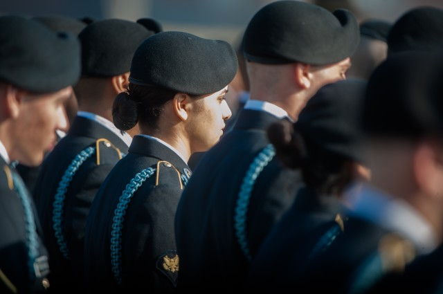 First Gender-Integrated Infantry One Station Unit Training Company Graduates