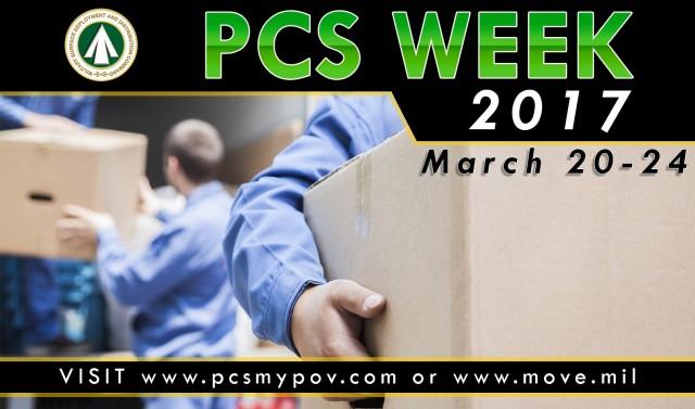 PCS Week Graphic
