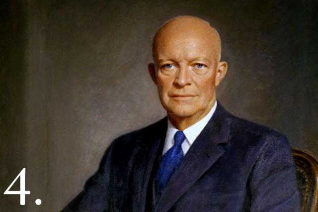 Portrait of President Dwight D. Eisenhower