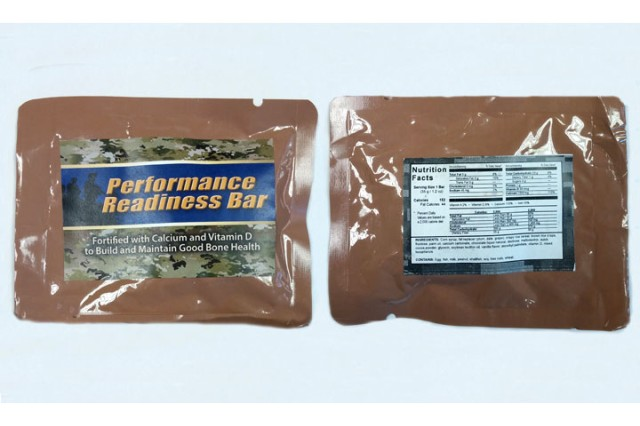 A new fortified snack bar developed by the Military Nutrition Division at the U.S. Army's Research Institute of Environmental Medicine boosts calcium and vitamin D levels, making trainees less vulnerable to the fractures.
