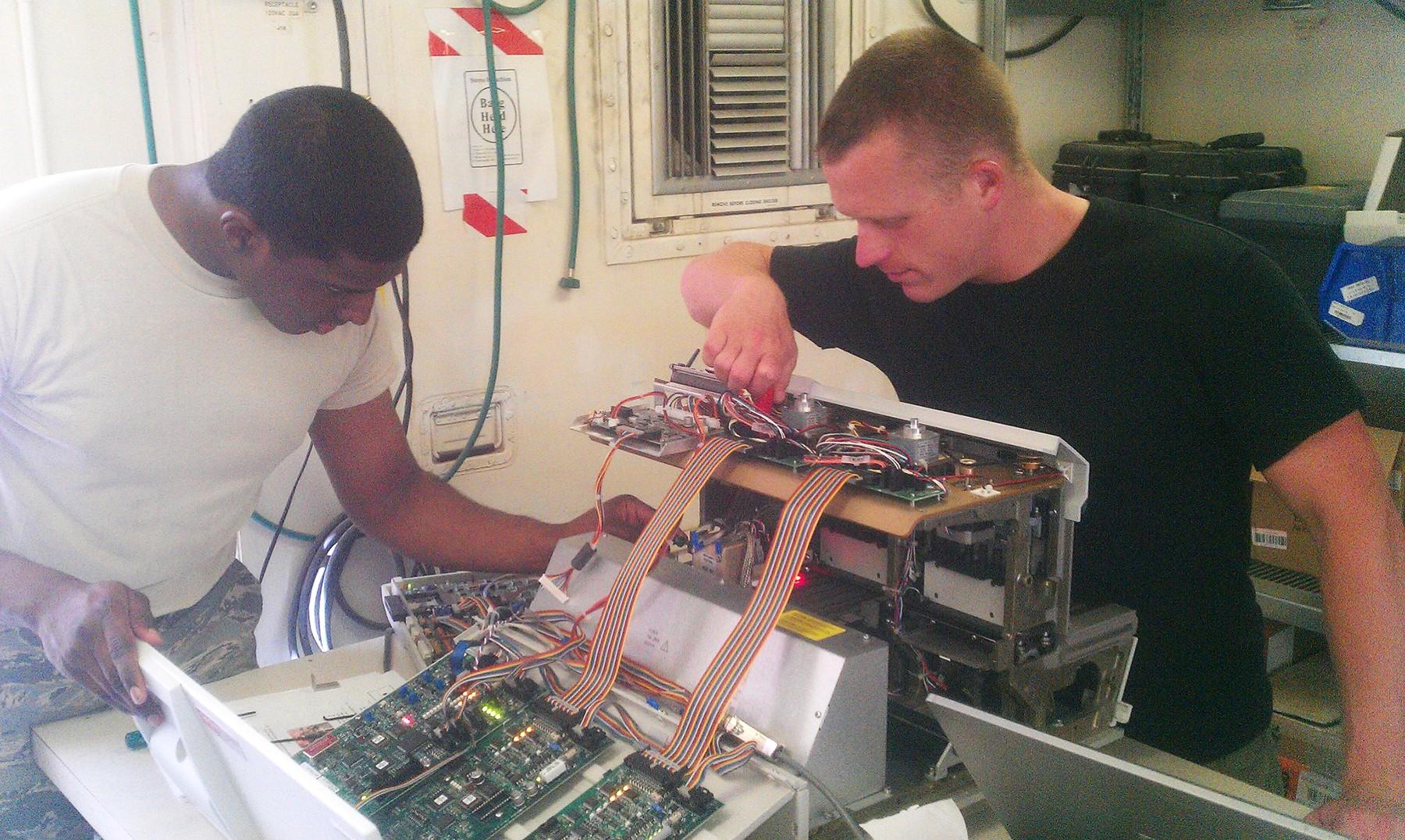 USAMMA Team Keeps Complex Medical Equipment Working in Complex