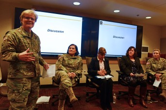 Female Army leaders discuss challenges, opportunities of serving