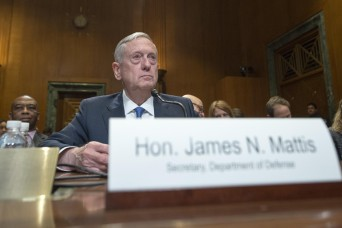Mattis urges congressional support for additional $30 billion for defense