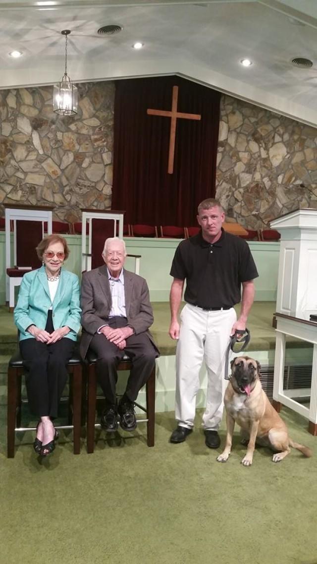 With Presiden Carter