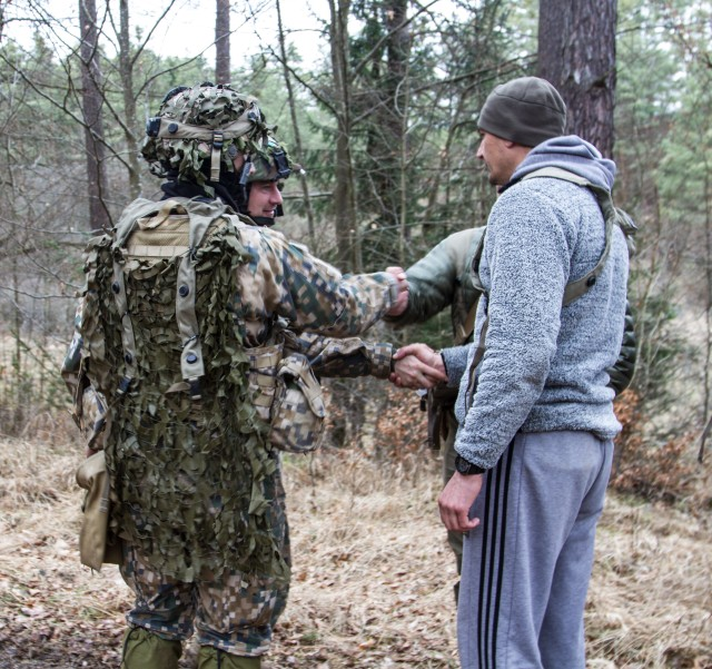 Latvian Army cooperates with multinational SOF
