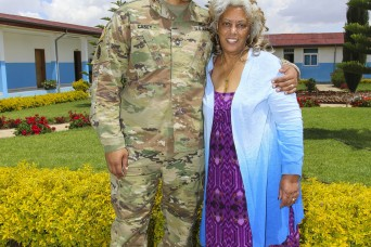 USARAF-led exercise in Ethiopia reunites Soldier, mother