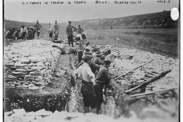 World War I Building The American Military Article