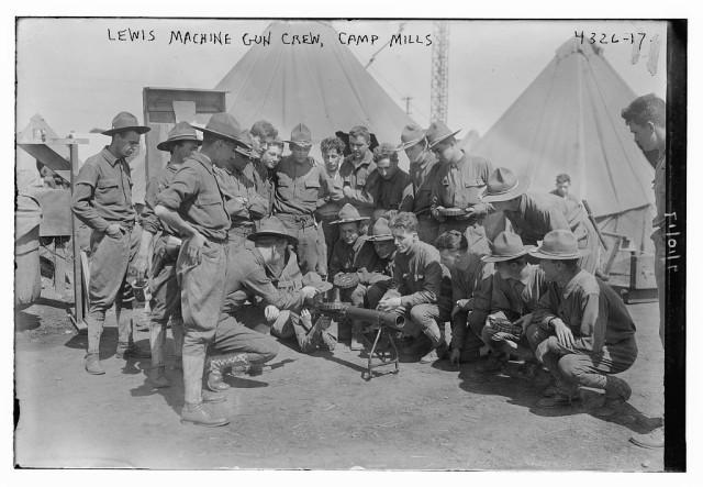 Soldiers undergo training