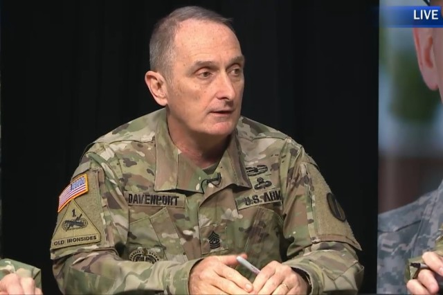 Command Sgt. Maj. David S. Davenport, the top enlisted advisor for the Army Training and Doctrine Command, said that the Expert Action Badge will not be a given to any Solider who competes for it while speaking at a virtual town hall March 30, 2017. If approved, Soldiers would compete in 30-plus warrior tasks and battle drills, as well as up to five mental tasks, for a chance to wear the badge on their uniforms, similar to the Expert Infantryman Badge or Expert Field Medical Badge.
