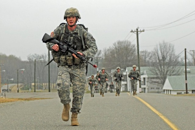 The Army is looking to have an Expert Action Badge, similar to the Expert Infantryman Badge and Expert Field Medical Badge, that would allow Soldiers to validate their skills and boost readiness across the force. Some of the requirements in the competition could include a 12-mile foot march to be finished under three hours while carrying a load of 35 pounds; a physical fitness test with 80 percent in each category in their respective age group; and being able to locate three out of four land navigation points within two hours.