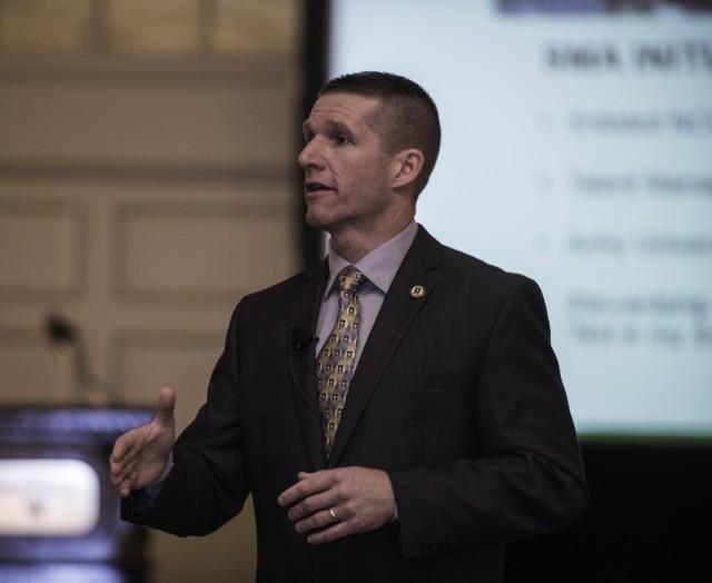 SMA Speaks at Transition Symposium