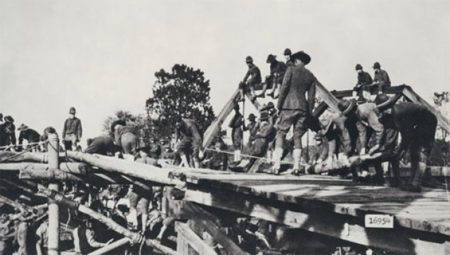 WWI buildup century ago led to modern Army