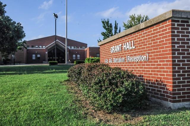 Grant Hall, 43rd Adjutant General Reception Battalion, Fort Leonard Wood, Missouri.
