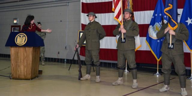 New York National Guard Marks World War I Centennial