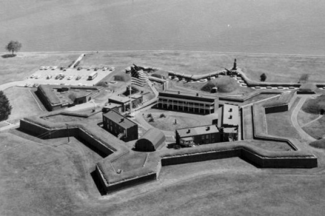 An undated photo of Fort McHenry.