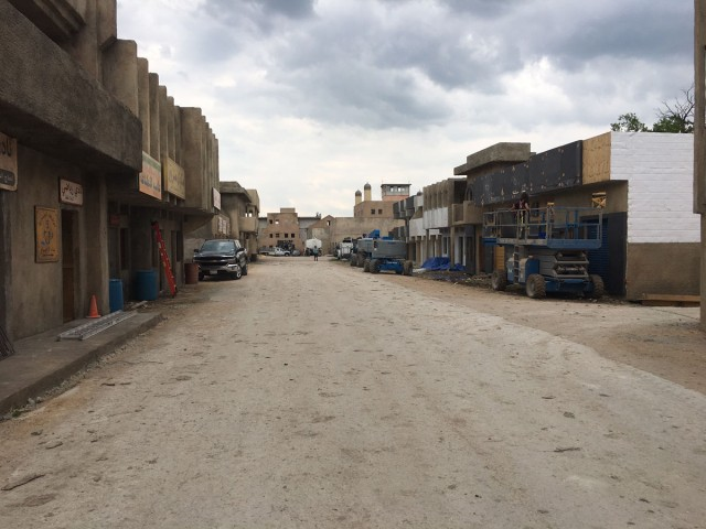 Sadr City set