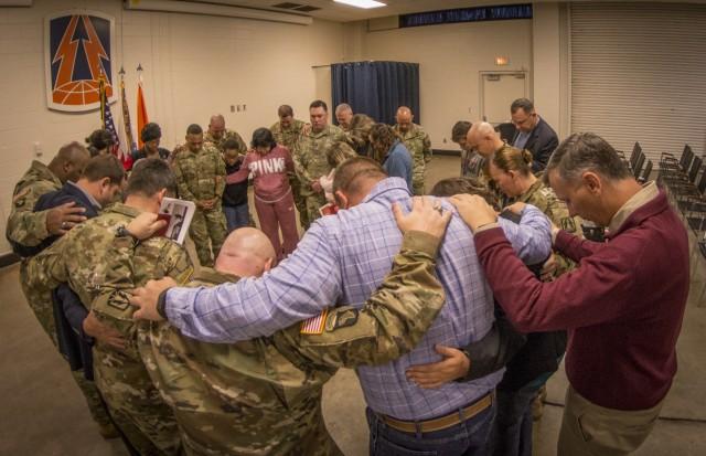 Prayer for the deploying