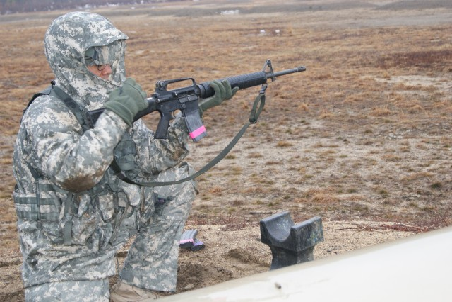 Chambering a Rifle Round