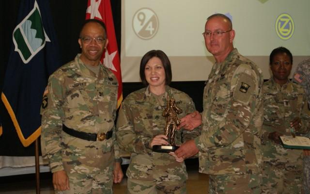 SSG DiOssi Named 80th TC, 99th RSC Best Warrior