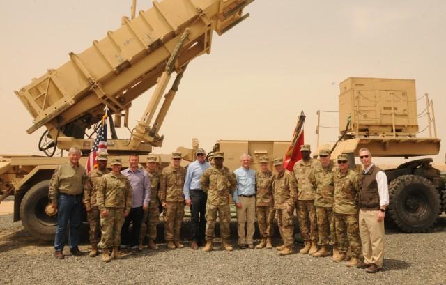 Congressional Delegation at Camp Arifjan