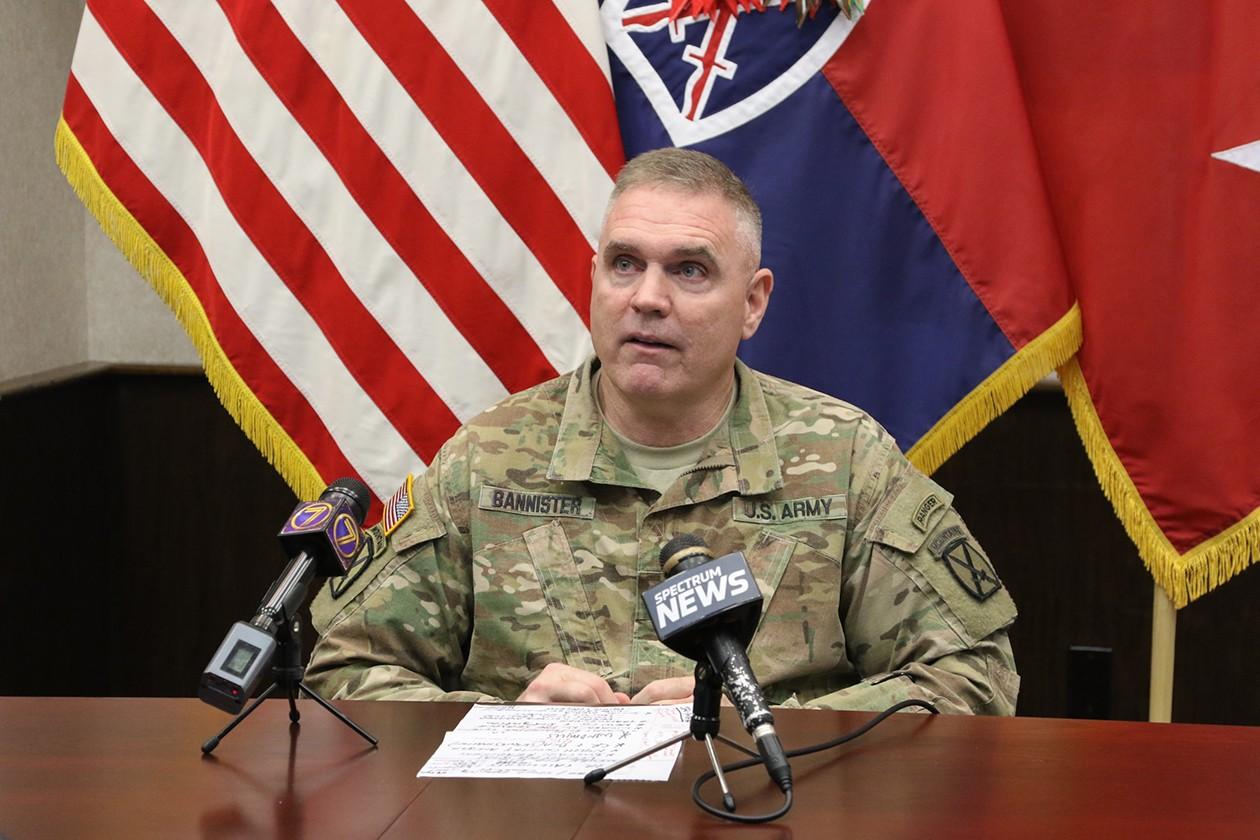 10th mountain division commander addresses challenges for Bureau commande