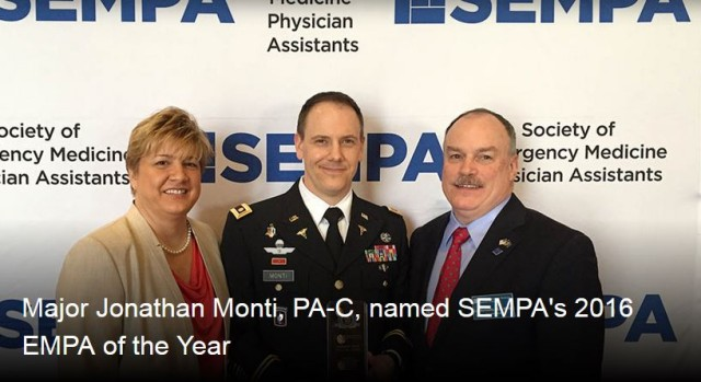 SEMPA 2016 Emergency Medicine PA of the Year
