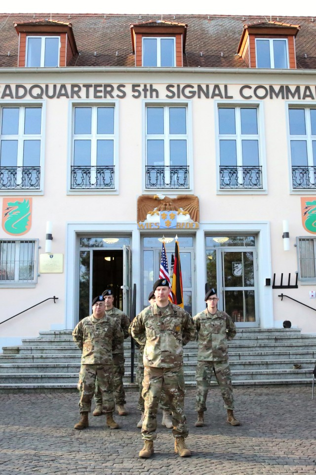 NETCOM TAC-Europe establishment brings new patch to Garrison Wiesbaden