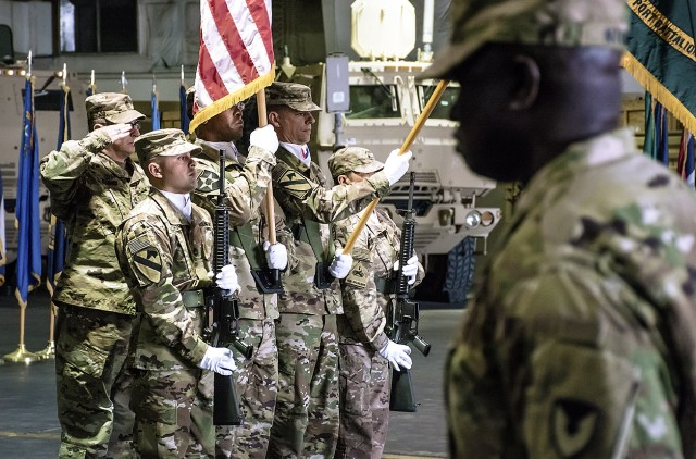 401st Army Field Support Battalion-Qatar welcomes new commander