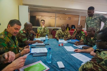 Exercise Unified Focus 2017 plan takes shape in Cameroon