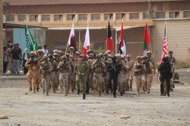 Multinational forces wrap-up exercise Eagle Resolve 2017 in Kuwait