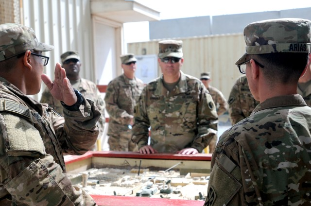 29th ID Leadership Shows Soldier Support