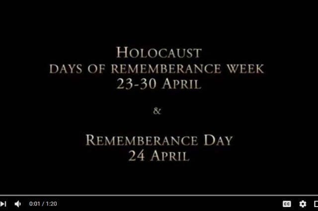 U.S. Army Security Assistance Command's Maj. Gen. Stephen Farmen, commanding general, shares the importance of recognizing the Holocaust Days of Remembrance. The week of April 23rd commemorates the victims of the Holocaust. The Days of Remembrance was established by the U.S. Congress and memorializes the six million Jewish murdered in the Holocaust, as well as millions of non-Jewish victims and those whose actions helped saved lives.