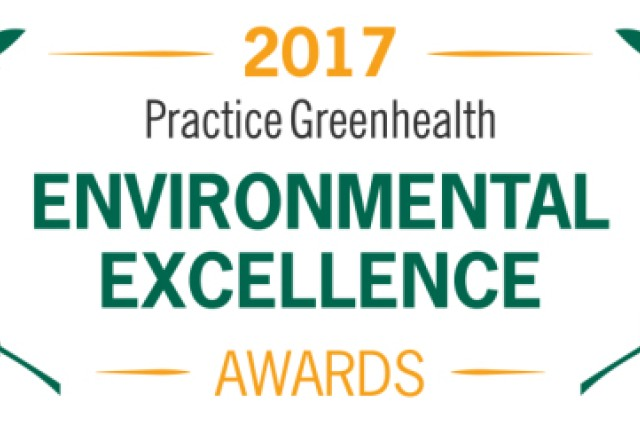 Practice Greenhealth award
